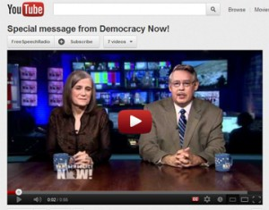YouTube clip of Amy Goodman and Juan Gonzalez on FSRN